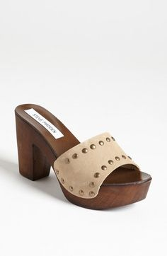 Steve Madden 'Abstrct' Sandal available at #Nordstrom Wow!!! Love them!