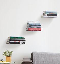 Comprar Estanterías invisibles Conceal tres Umbra libros balda decoración…