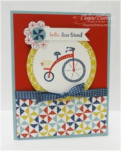 SU! Moving Forward stamp set - Connie Babbert