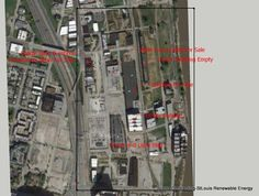 #STLNFL Stadium Proposal Google Map Location