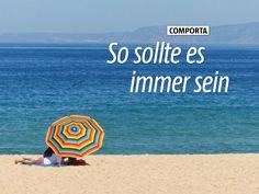 Comporta So sollte es immer sein - via Marcopolo Travel Magazine Jul 2015 | Leise spielt die Musik, kleine Wellen rollen an samtweichen Strand, die Tage gehen so dahin – Urlaub in Portugals Comporta ist Entschleunigung pur. Bericht aus einer verzauberten Region am Meer in der Nähe von Lissabon #alentejo #portugal #reisen