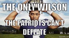 The only Wilson the Patriots can't deflate!