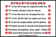 Poems & Quotes Finder: Celebrating Father's Day with Humor and LoveQuote...