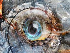 """Milendia series """"Eyes of ladders"""" blue eye"""