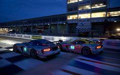 2013 SRT Viper GTS-R at Le Mans