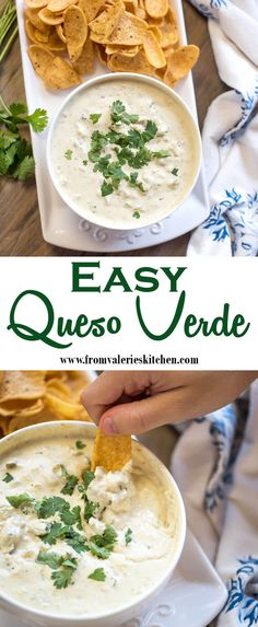 Appetizer Dips, Yummy Appetizers, Appetizers For Party, Appetizer Recipes, Cooking Recipes, Healthy Recipes, Yummy Recipes, Queso, Mexican Food Recipes