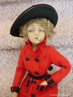 -Boudoir Doll  Lenci Italina.