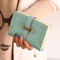 Wow~ Awesome Fashion Cartoon Lady Students Wallet  Clutch Bag! It only $20.9 at…