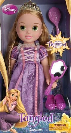 My First Disney Princess Rapunzel Toddler Doll Disney Princess Toddler Dolls, My First Disney Princess, Disney Princess Rapunzel, Disney Dolls, Baby Girl Toys, Toys For Girls, Kids Toys, Baby Alive, Doll Toys