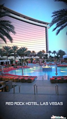 Travel: Red Rock Casino and Spa Las Vegas - Pool Time - taken with a Droid DNA Camera Phone #VZWBuzz