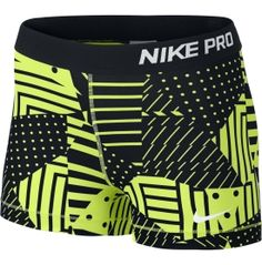 Nike Women's 3'' Pro Patch Work Printed Compression Shorts - Dick's Sporting Goods