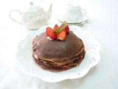 「いちごのショコラミルクレープ」クルリン | お菓子・パンのレシピや作り方【corecle*コレクル】