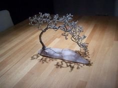 . Make a wire tree in under 180 minutes by metalworking Version posted by Sander T. Difficulty: Simple. Cost: Cheap.