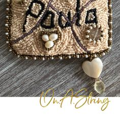 Measuring Tape Cover Pattern DIY Tape Measure for Beading Bead Embroidery Tutorial, Beaded Embroidery, Decorative Beads, Beaded Jewelry Patterns, Beading Tutorials, Digital Pattern, How To Make Beads, Bead Weaving, Just For You