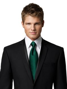Shop our wedding ties and add a sophisticated splash of color to your groomsmen's attire. Complete their look with groomsmen ties, wedding bow ties and more! Teal Tie, Green Tie, Wedding Ties, Wedding Attire, Wedding Stuff, Teal Groomsmen, Black Suits, Gray Suit Black Shirt, Mens Black Wedding Suits