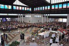 Consacrazione del nuovo Santuario di San Gabriele #abruzzo #chiesa #cattolica #religione