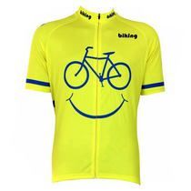 Bicycle Smile Emoji Cycling Jersey #cyclegearclothing