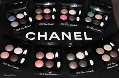 CHANEL LES 4 OMBRES Multi-Effect Quadra Eyeshadow Palettes...love!