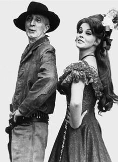 """""""Stagecoach"""" Portraits, 1966 Norman Rockwell and Ann Margaret"""