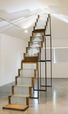 #door #installation #exhibition #modernart #contemporary #upcycle art #upcycle sculpture #umalong #longsfactory #record sculpture  www.umalong.com