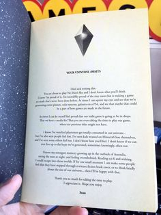 Sean Murray's message to you before playing No Man's Sky - NeoGAF
