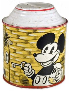 1934 German (mfg. unknown), Mickey Mouse Beehive Bank