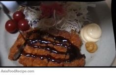 My favorite Japanese food is Tonkatsu. Tonkatsu means deep fried pork, It's very easy to cook. You don't need any skills to prepare this.