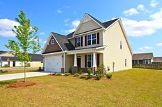 606 Savannah Dr in Carolina Forest, Jacksonville NC by H & H Home, the Biltmore floorplan with 5 bedrooms!