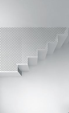Perforated screen balustrade  Tamizo Architects | Pabianice