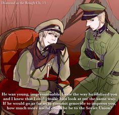 Hetalia Quotes, Fanfiction Net, Hetalia Headcanons, Axis Powers, Rough Diamond, Cool Eyes, Russia, Cartoons, Germany