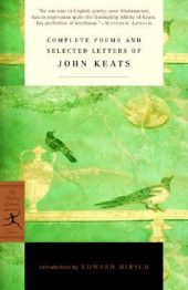 Keats is my fav Romantic poet.