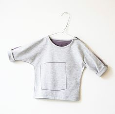 mauve long sleeve by Finch and Agnes