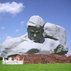 Belarus! Stone sculpture in Brest. #Belarus #Europe #travel #tricityliving www.tricityliving.ca