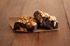 Looking for Vegan Gifts such as these Raw Chocolate Brownies in Peanut Butter Swirl Flavour? Shop for Vegan Cupcakes, Brownies, Doughnuts and lots more. Vegan Brownie, Vegan Gifts, Peanut Butter, Cake, Desserts, Food, Tailgate Desserts, Deserts, Kuchen