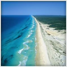 Fraser Island, Australia. A Island made off sand, it can't get much better than that!