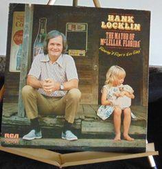 Hank Locklin Lp Mayor Of McLellan, Florida Near Mint…