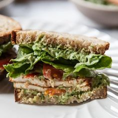 Vegetarian BLT with
