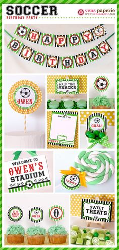 Soccer Party Package