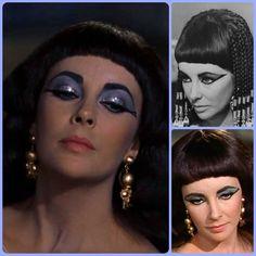 Elizabeth Taylor Cleopatra, Halloween Face Makeup