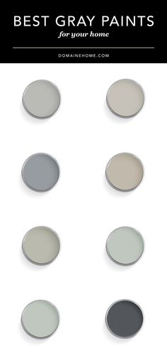 Best Grey Paint Colors favorite gray paint colors for your home #diy #paintcolor