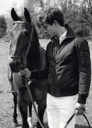 Joe and his gelding Cowboy ain't Playboy aka Playboy. Girlfriend is Victoria. Main discipline is polo