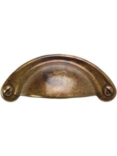 """Classic Cup Bin Pull - 2.91"""" x 1.22""""   House of Antique Hardware"""
