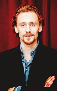Tom Hiddleston--I don't even care that he's kind-of a ginger here. Still totally adorable.