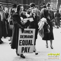 💸Celebrate National Equal Pay Day!💰We'll be donating 20% of all sales on April 4, 2017 to the National Organization for Women which advocates for wide range of economic justice issues affecting women including a living wage, job discrimination, pay equity, social security and pension reform & more. #OverSoyed #EqualPayDay #NOW #EqualPay #PayEquality #JobDiscrimination #LivingWage