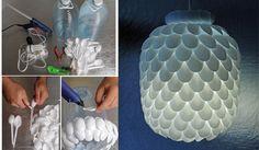 "Úžasná ""urob si sám"" lampa, ktorá nestojí takmer nič!   #lampa #lamp #urobsisam #DIY #tojenápad"