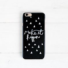Fall For DIY January Phone Cover Motivation Make it Happen