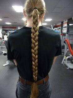 braids for men with long hair | longhaired men | Tumblr