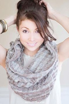 Long, short, wide, narrow, buttoned — these infinity scarves from Craftsy's talented indie designers are all FREE and itching to get on your needles.