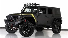 2013 Jeep Wrangler Unlimited Conversion by Starwood Customs For Sale