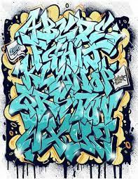 Resultado de imagem para graffiti letters a-z